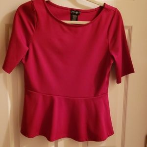 Lord and Taylor peplum top